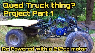 Homemade ATV quad truck part 1