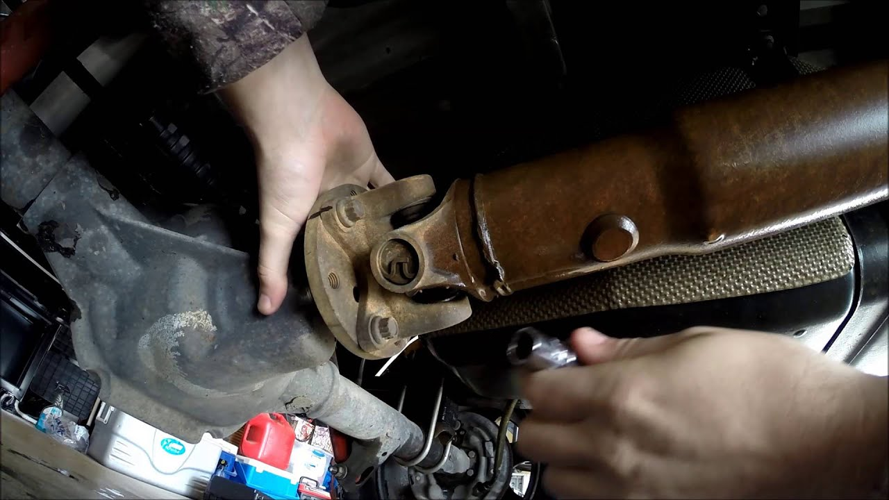 Ford ranger u joint replacement