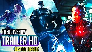 Justice League ALL Teaser Trailers - The Flash, Aquaman, Batman, Wonder Woman, Cyborg