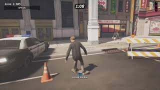 Wreck 5 Cop Cars - Streets Level Park Goal - Tony Hawk's Pro Skater 1 + 2