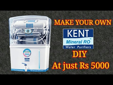 DIY RO WATER Filter || HOME MADE KENT MINERAL RO WATER FILTER