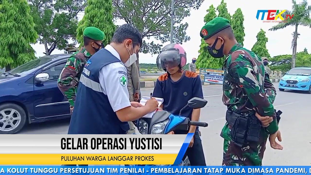 Gelar Operasi Yustisi Puluhan Warga Langgar Prokes