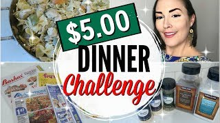 FAMILY MEAL FOR UNDER $5.00 ● FIVE DOLLAR DINNER CHALLENGE IDEAS ● ZAYCON CHICKEN + PEPPER RECIPE ●