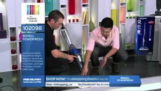bissell power fresh steam mop on the shopping channel