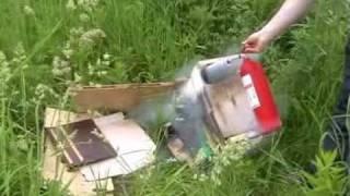 Тест углекислотного огнетушителя ОУ-2.(, 2009-06-14T13:47:51.000Z)