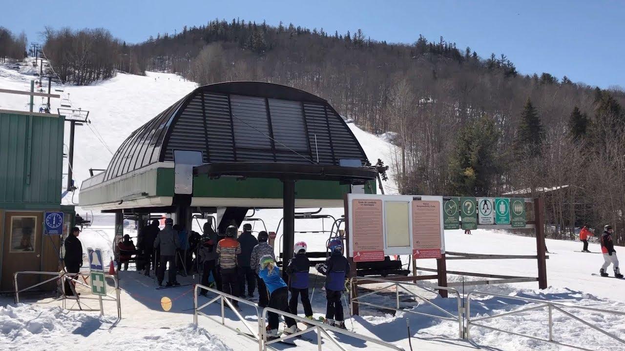 Vanier - Mont Ste Marie / Poma Detachable Quad Chairlift