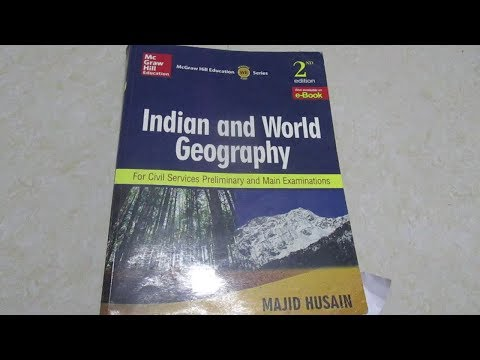 Indian and World Geography by Majid Hussain book review useful for upsc,ssc etc