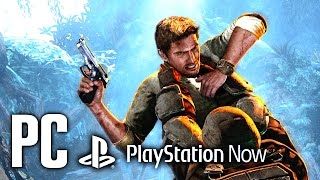 Uncharted 2 PC Gameplay Full HD [PlayStation Now]
