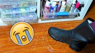 My Art Room Flooded