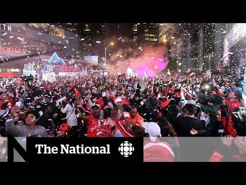 Toronto erupts as