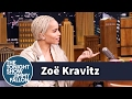 Zoë Kravitz's Worst Date Stuck Her with a Giant African Tortoise