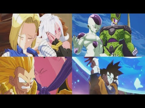 DRAGON BALL FIGHTERZ All Special Encounters (All Roasts, Funny Dialogue, Team-ups)