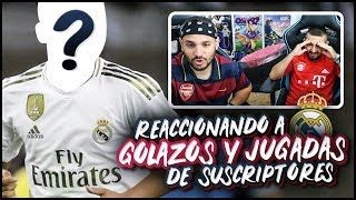 REACCIONANDO A GOLAZOS Y JUGADAS INCREÍBLES DE SUSCRIPTORES ft. Vituber