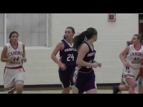 Camden Hills vs. Hampden Academy Girls Basketball Highlights