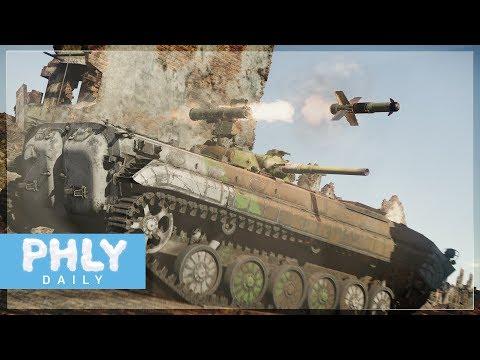 GLASS ATGM | BMP-1P Next Gen Upgrade (War Thunder Tanks Gameplay)