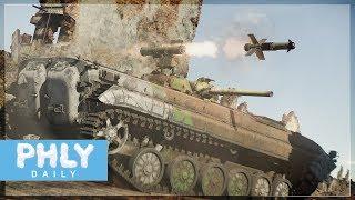 glass atgm   bmp 1p next gen upgrade war thunder tanks gameplay
