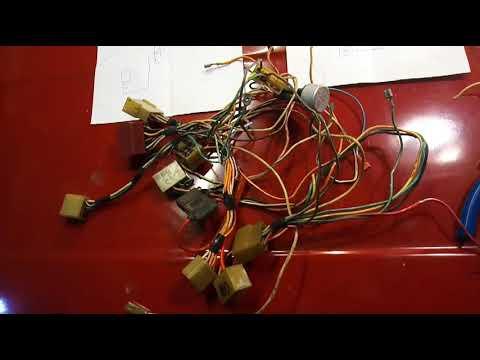 Замена приборов ваз 2105 на ваз 2107 , также разбираемся с электрикой