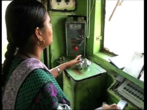 Asia's First Lady Diesel Engine Driver in Mumbai Leads by Example on International Women's Day