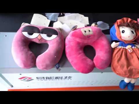 F plush toys knit fabric cutting  advertizing