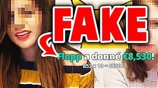FAKE : FLOPP donne 9400,00€ à une STREAMEUSE