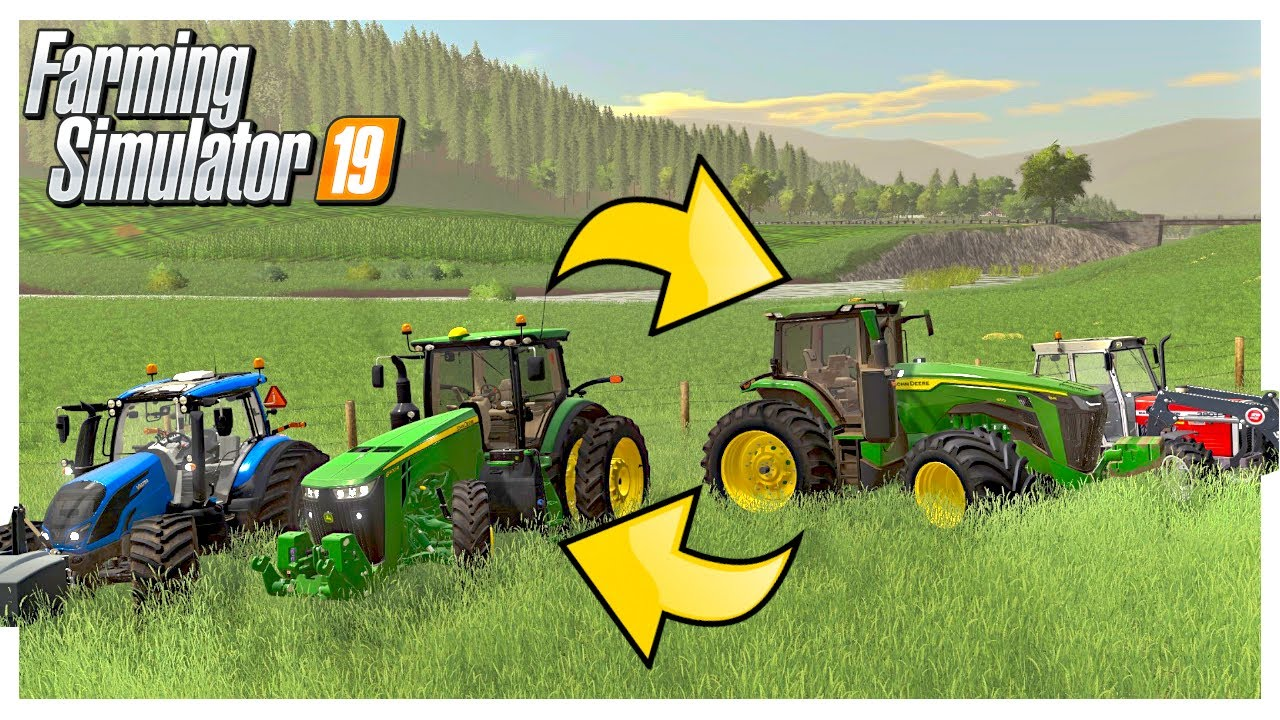 WHAT TRACTORS SHOULD WE KEEP ON OUR CATTLE FARM?  | Georgetown Roleplay | Farming Simulator 19