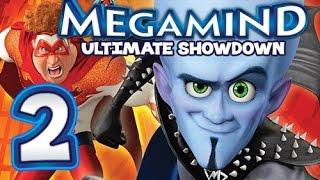 Megamind: Ultimate Showdown Walkthrough Part 2 (PS3, X360) Level 2 - Downtown