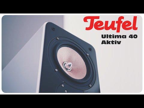 Teufel Ultima 40 Aktiv Lautsprecher - im Heimkino Test [ deutsch ]