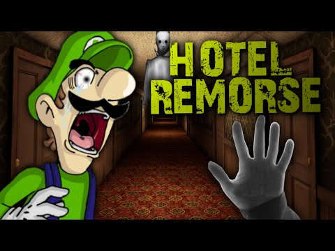 LUIGIKID PLAYS: HOTEL REMORSE [SCARY HORROR GAME]