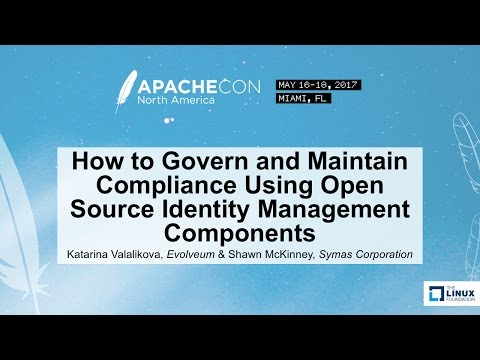 How to Govern and Maintain Compliance Using Open Source Identity Management Components
