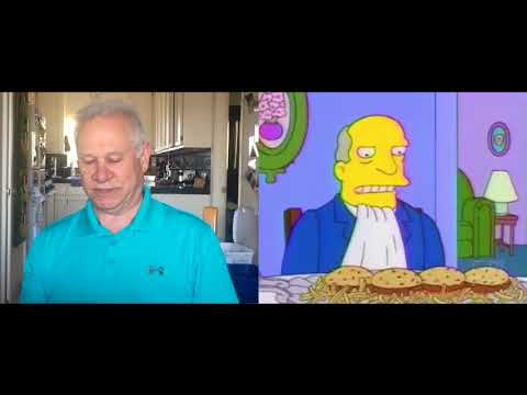 Steamed Hams but it's voiced by my Dad