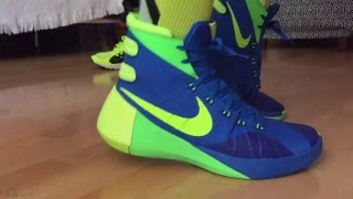 nIKE HYPERDUNK 2015 WALK TEST