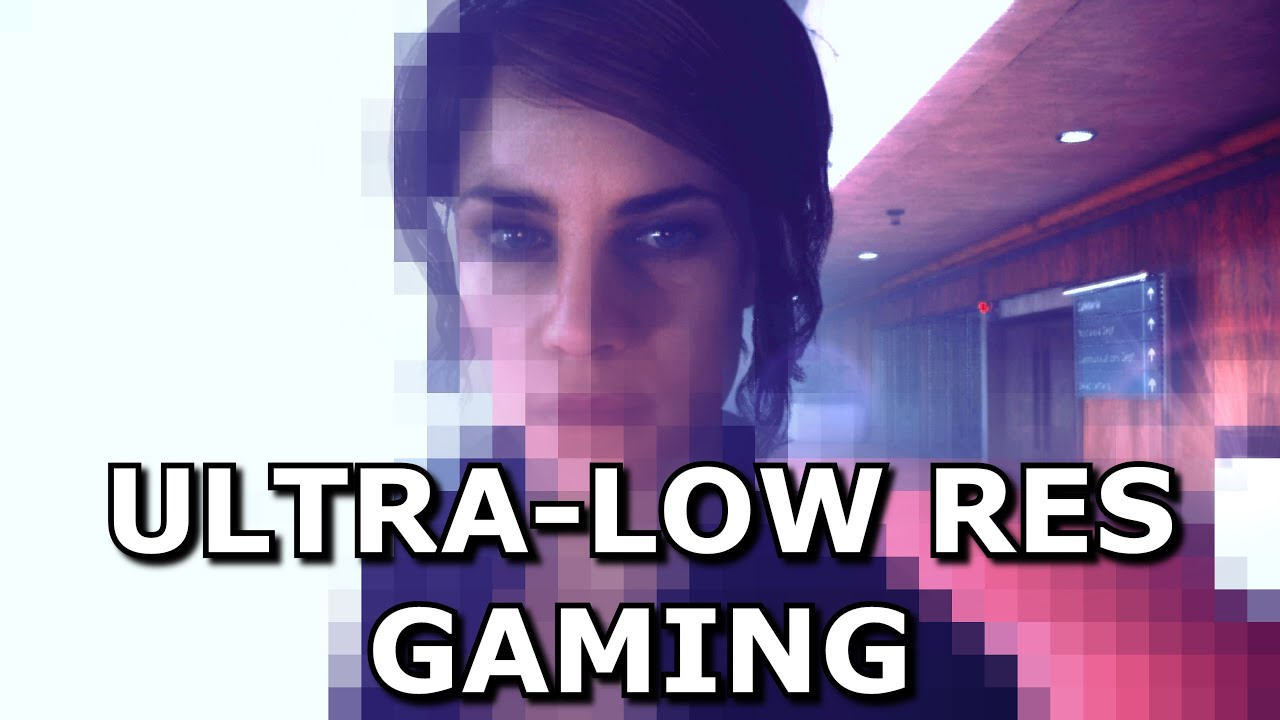 Download Gaming at Ultra Low Resolutions with DLSS - 240p and beyond
