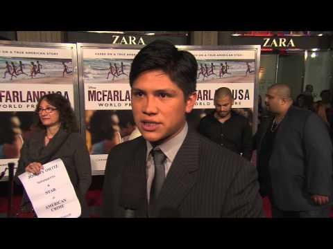 McFarland USA: Johnny Ortiz  Premiere