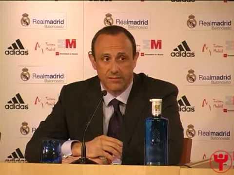 Ettore Messina presentado como nuevo entrenador del Real Madrid