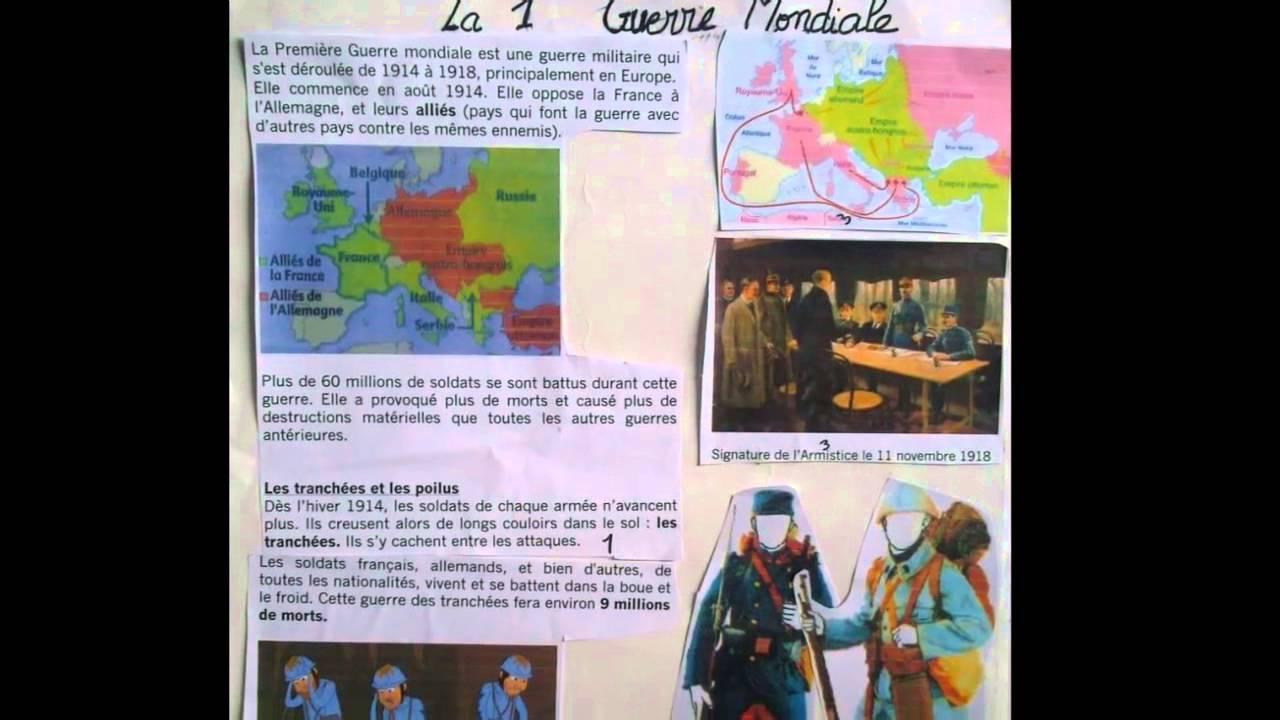 Exposés des Elèves de CE1 de l'école Sainte Marie des
