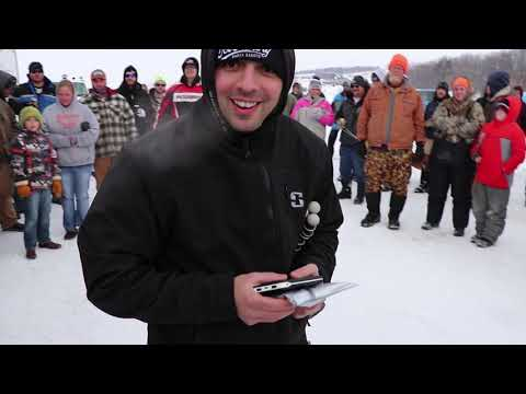 Ice Fishing North Dakota Lake Ashtabula 2019 Tournament