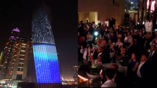 Cayan Tower Opening