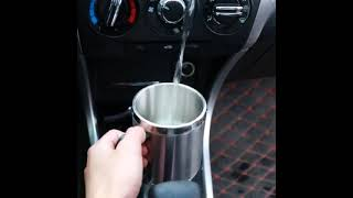 차량용 보온컵 커피포트 카 휴대용 텀블러 12V 승용차