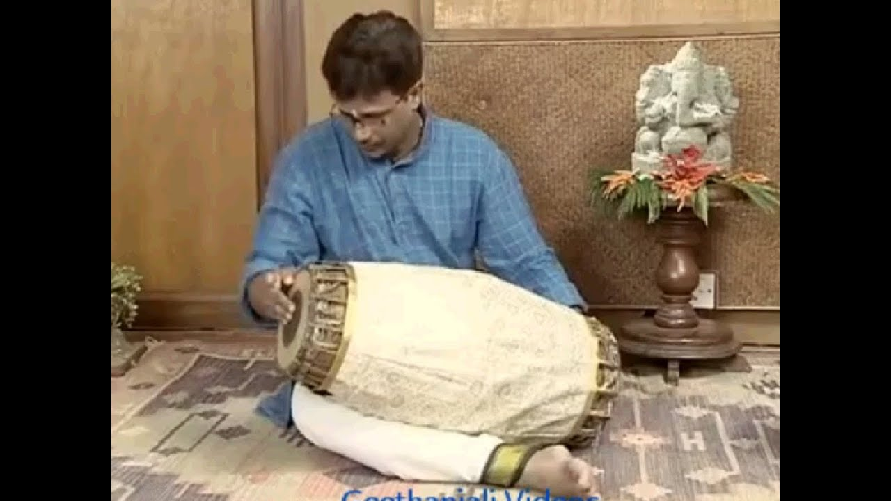 Learn to Play Mridangam - 7 syllable