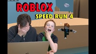 Roblox SPEED RACER 4! Yogi vs the Dad 🏎 🕹 - BB Gaming 003