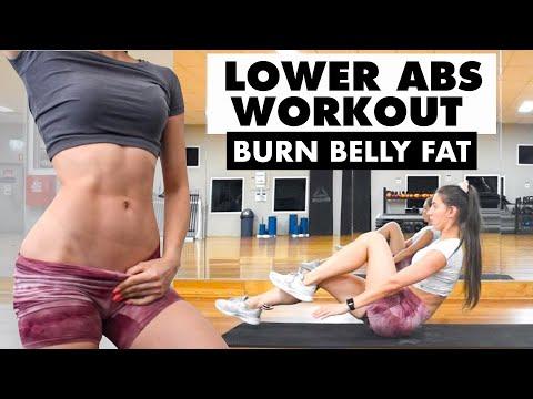 10 MIN LOWER ABS WORKOUT   LOSE Lower Belly FAT   Belly Fat Burn
