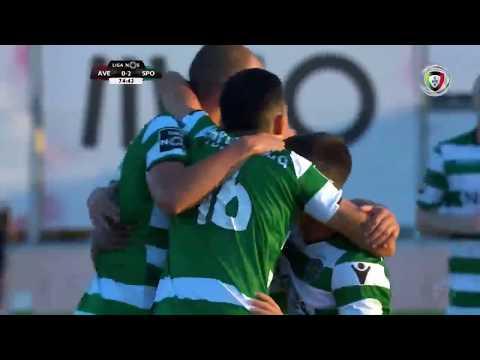 Todos os golos do Sporting liga portuguesa 17/18 [ golo 2 ]