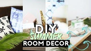 DIY SUMMER ROOM DECOR | EASY & MINIMAL (TUMBLR INSPIRED) 2017