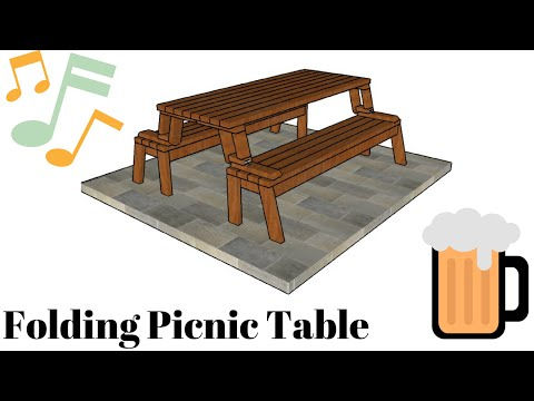 Picnic Table And Bench Assembly Instructions Doovi