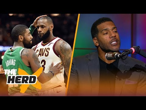 Jim Jackson talks Kyrie leaving LeBron for Boston, Lonzo's lack of 'dog' and more | THE HERD