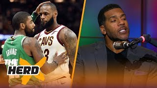 Jim Jackson talks Kyrie leaving LeBron for Boston, Lonzo