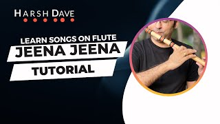 Learn to play Jeena Jeena Flute Cover | Badlapur