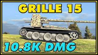 World of Tanks | Grille 15 - 8 Kills - 10.8K Damage