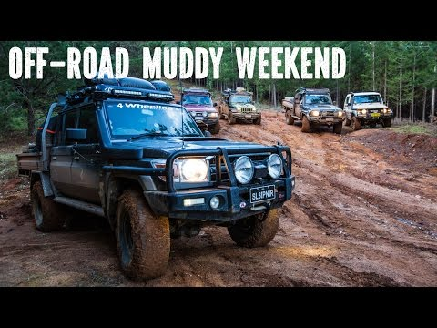 4 wheeling Muddy Weekend