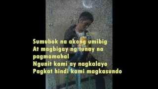 Huwag ka lang mawawala Lyrics ( Bugoy & Liezel)